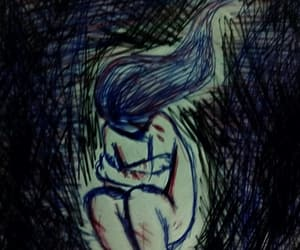 anxiety, death, and sad girl image
