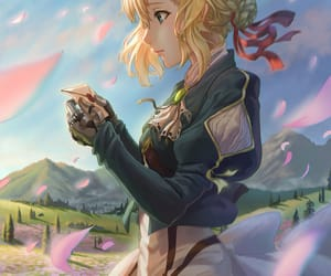 anime and violet evergarden image