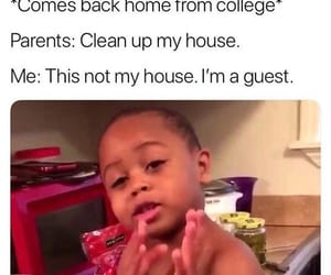 clean, college, and funny image