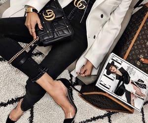 bag, black, and gang image