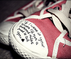 shoes, quote, and converse image