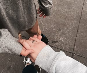 couple, goals, and hands image