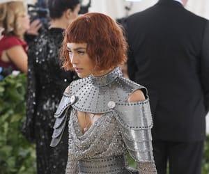 dress, fashion, and met gala image