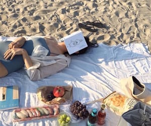 asian, beach, and food image