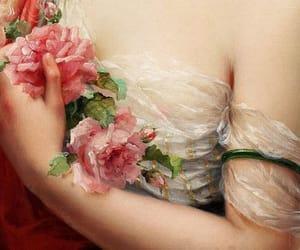 aesthetics, flowers, and art image