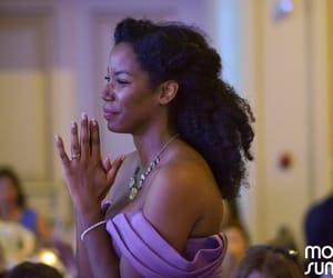black women, elegance, and hairstyles image