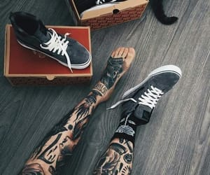 black, cool, and shoe image