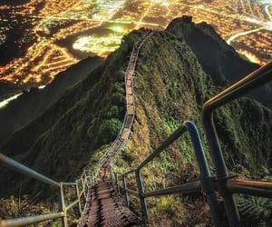 oahu-hı and stairway&city image