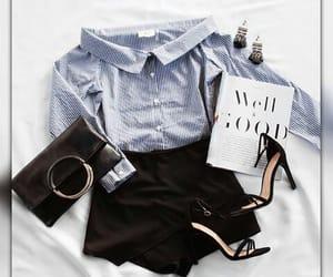 bag, shorts, and fashion image