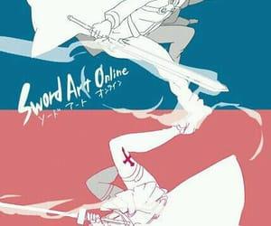 sword art online, SAO, and kirito image