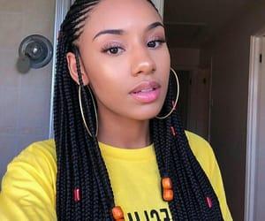 braids and makeup image
