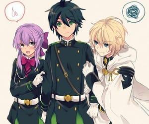 owari no seraph, anime, and mika image