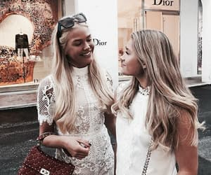 friends, blonde, and fashion image