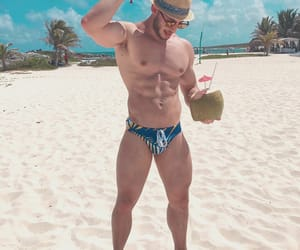 abs, beach, and white sand image