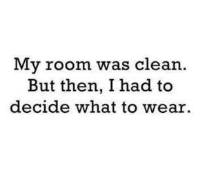 room, quote, and clean image