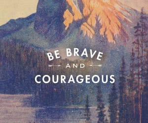 brave, courageous, and quotes image