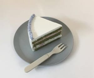 blue, cake, and pastel image
