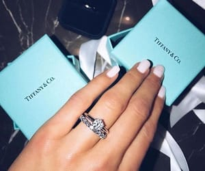 tiffany, diamond, and nails image