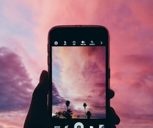 photography, sky, and pink image