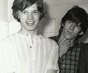 glimmer twins, Keith Richards, and mick jagger image