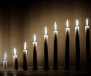 candles, movement, and gif image
