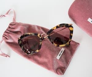 sunglasses, fashion, and miu miu image