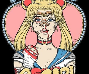 girl, sailor moon, and feminist image