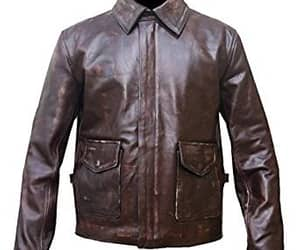 lovers, leather coat, and out look image