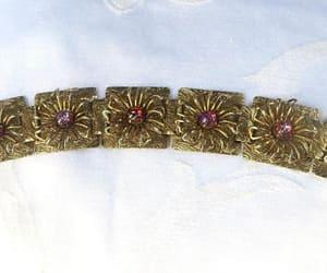 etsy, book chain bracelet, and vintage bracelet image