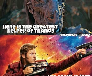 Avengers, memes, and starlord image