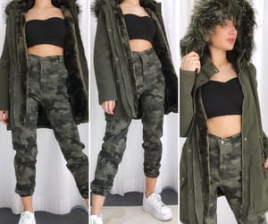 camouflage, inspiration, and clothes image