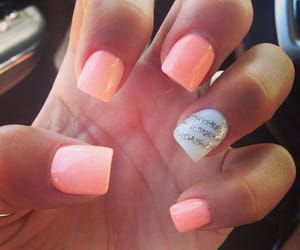 elegant, pink, and nails image