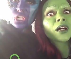 Marvel, nebula, and sisters image