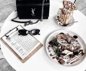 food, bag, and fashion image