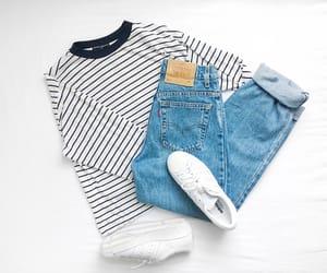 adidas, black and white, and fashion image