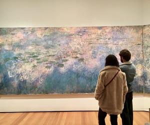 art, monet, and new york image
