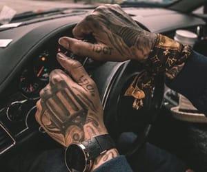 tattoo and car image