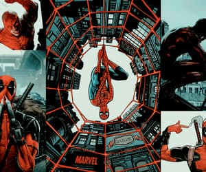 aesthetic, daredevil, and deadpool image
