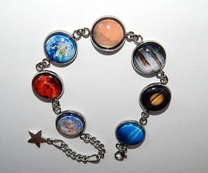 etsy, galaxy universe, and planet jewelry image