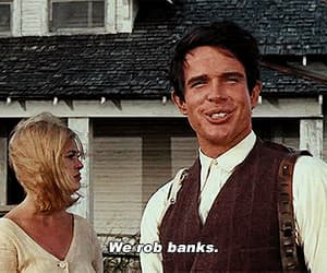 bonnie and clyde, Faye Dunaway, and gif image