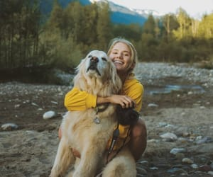 girl, goofylookingolden, and karhuthegolden image
