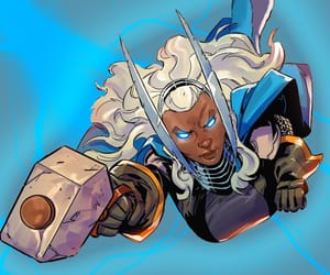 Marvel, ours, and ororo munroe image