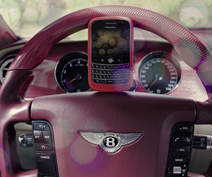 car, blackberry, and pink image
