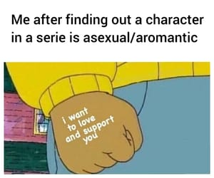 ace, lgbt, and aromantic image