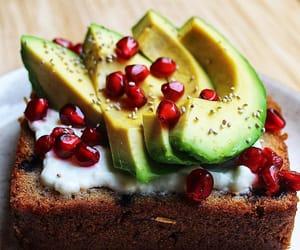 avocado, beautiful, and breakfast image