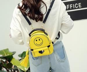 90's, purse, and yellow image