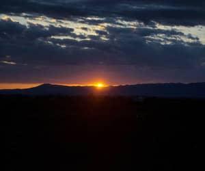 sunset, viscri, and românia image