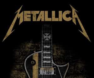 metallica and guitar image