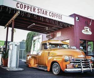 bar, car, and retro image