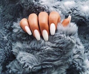 mani, manicure, and nails image